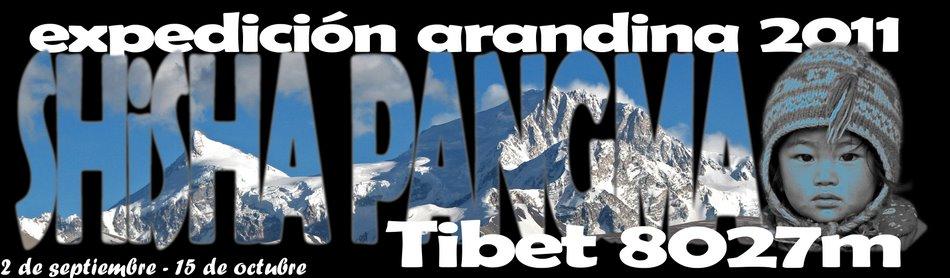 shisha pangma 8027 m expedición arandina 2011