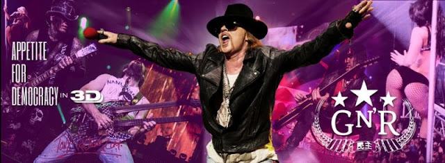 GUNS N'ROSES 'APPETITE FOR DEMOCRACY'