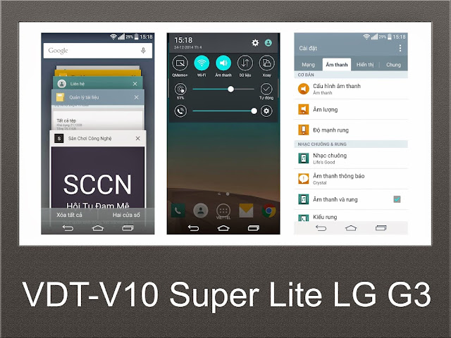 Free Download ROM VDT-V10 SUPER LITE LG G3 F400LSK V5.0 LOLLIPOP