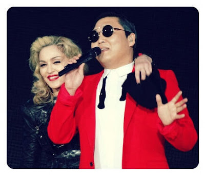 Madonna and PSY Give it 2 Me