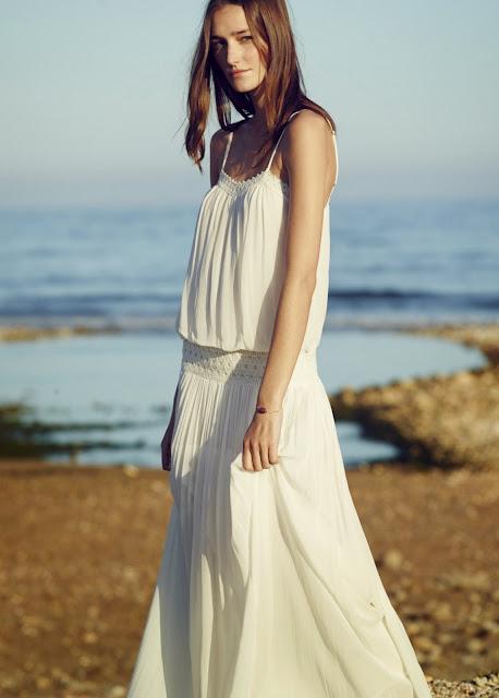 mango white maxi dress