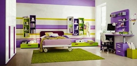 Cuartos decorados de color morado – dabcre.com