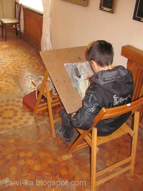 семейная студия при Симферпольском Художественном музее