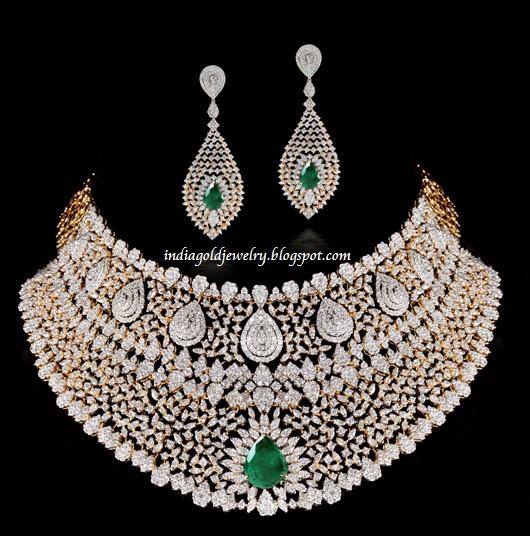 indian diamond necklace on pinterest diamond necklace