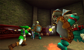 The Legend of Zelda: Ocarina of Time 3D Gameplay