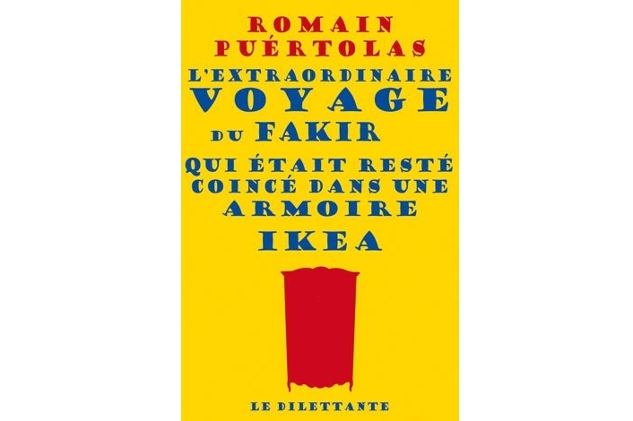 lundi librairie l extraordinaire voyage du fakir qui tait rest coinc dans une armoire ikea. Black Bedroom Furniture Sets. Home Design Ideas