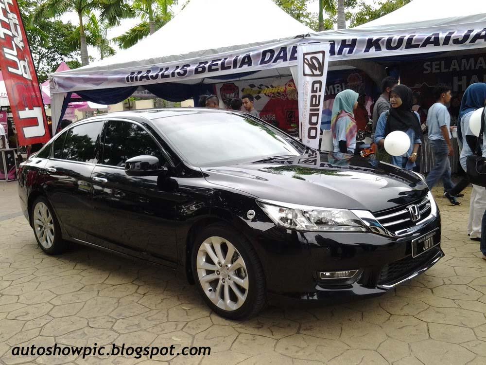 Honda Accord 2.4 Menteri Besar Johor JDT1