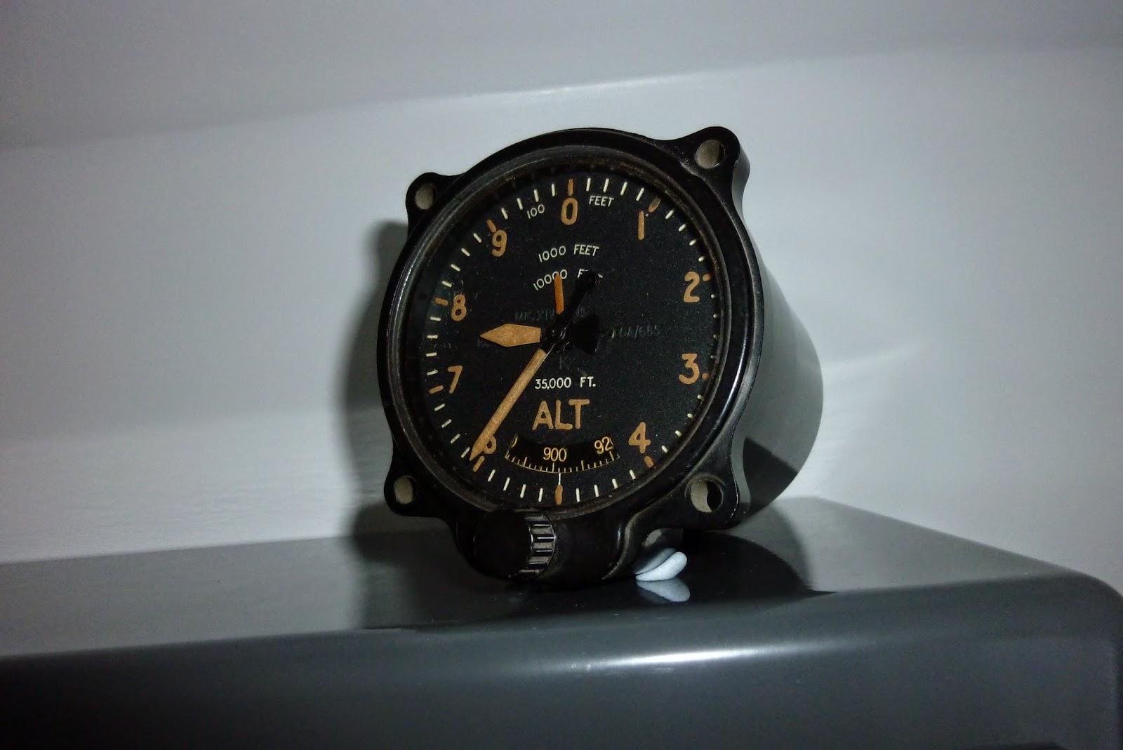 Vintage Altimeter