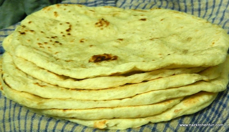 How to make Homemade Roti/Naan