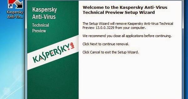 Kaspersky Antivirus 2014 Activation