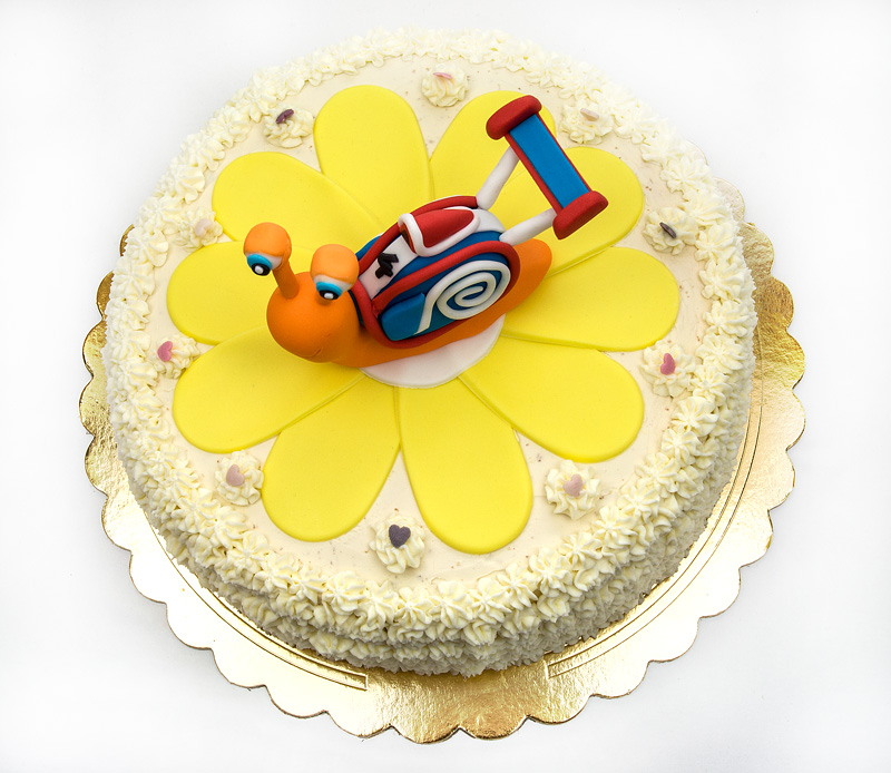Turbo cake top