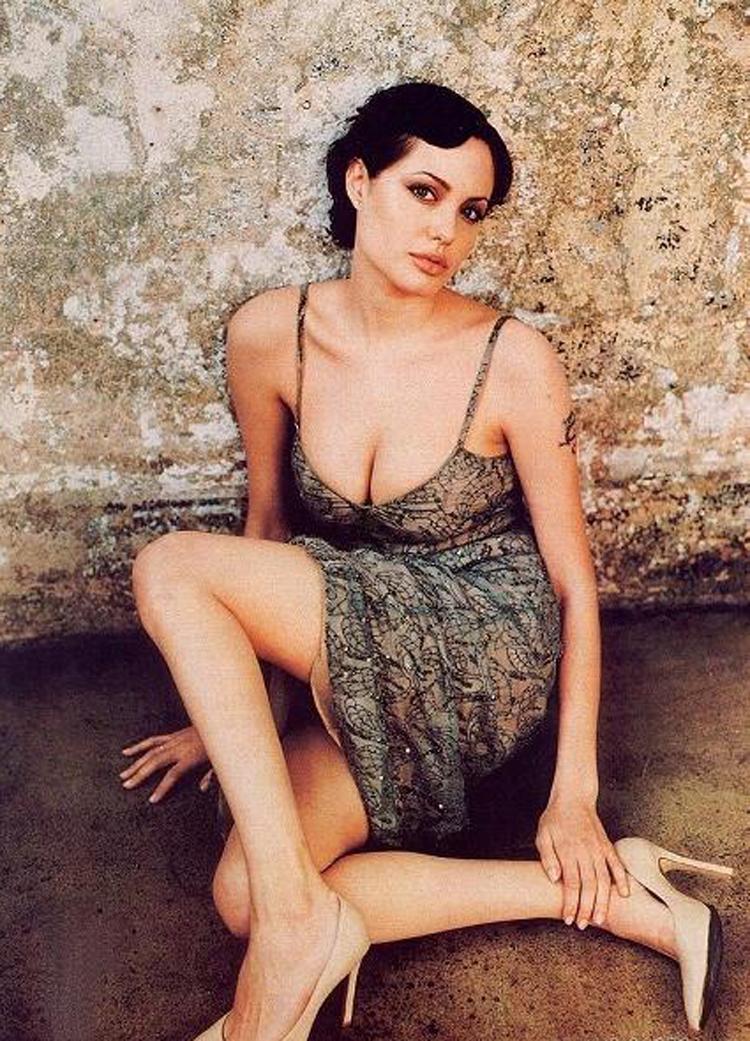Fresh Look Angelina Jolie Short Hairstyles 28