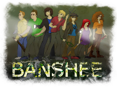 Banshee team at Mr. Dog films