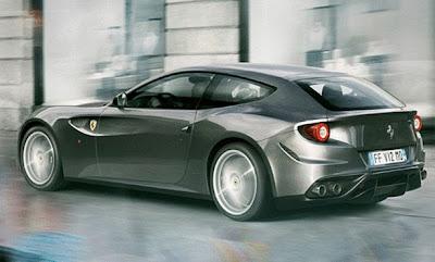 سيارة فيراري FF الجديدة Ferrari FF