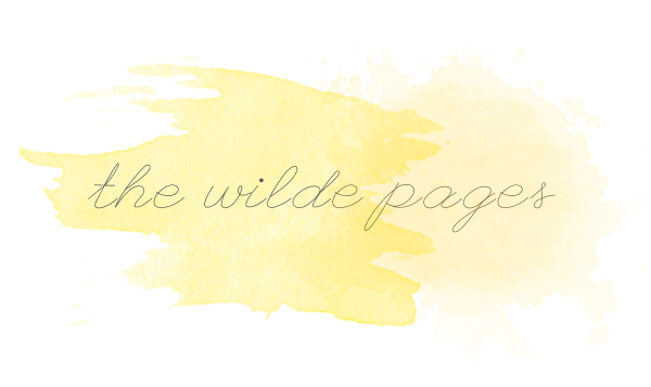 The Wilde Pages