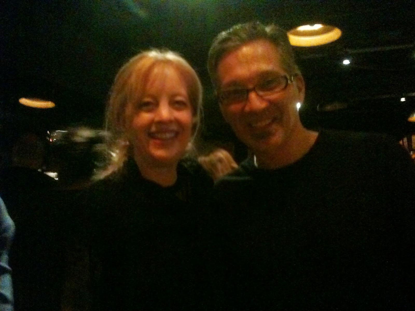 Maria Schneider and Earl MacDonald