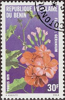 1959 Republique Populaire du Benin - Geranium