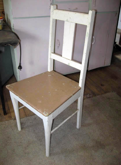 zefi's blog: DIY - kitchen chairs make over
