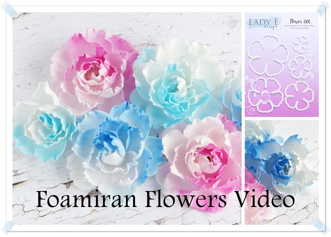 Foam Flowers Tutorial