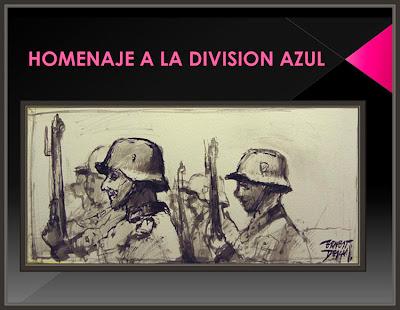 DIVISION AZUL-PINTURA-PONENTES-PINTOR-ERNEST DESCALS-