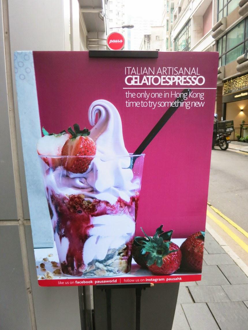 Pausa - 人氣火熱的Gelato Espresso