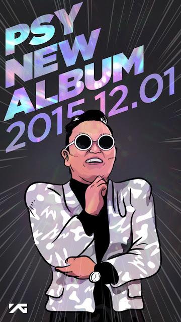 Psy - nuovo album - dicembre 2015