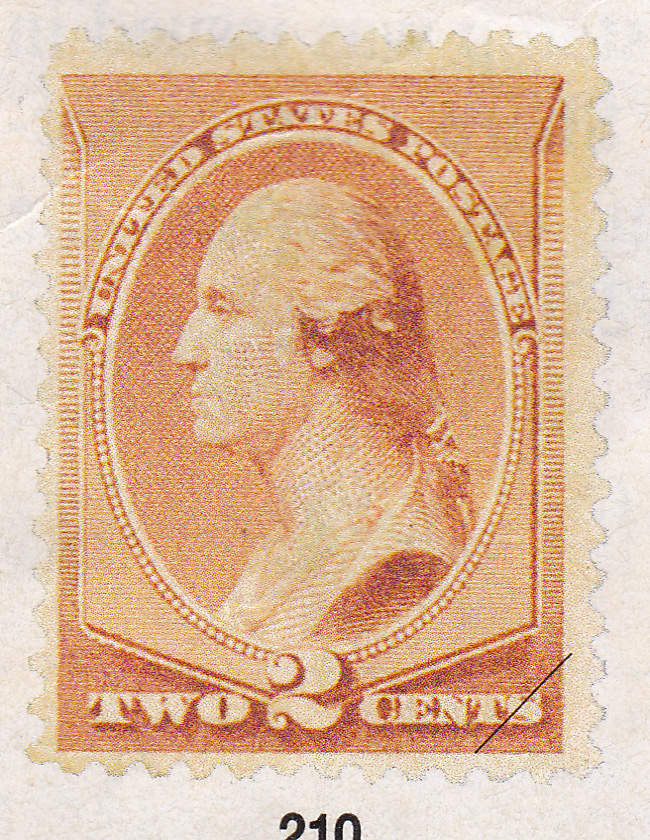 A New 2 Cent Red Brown Stamp Picturing George Washington Was Issued And The Lower Rate Increased Volume Of Mail Handled By Postal Service