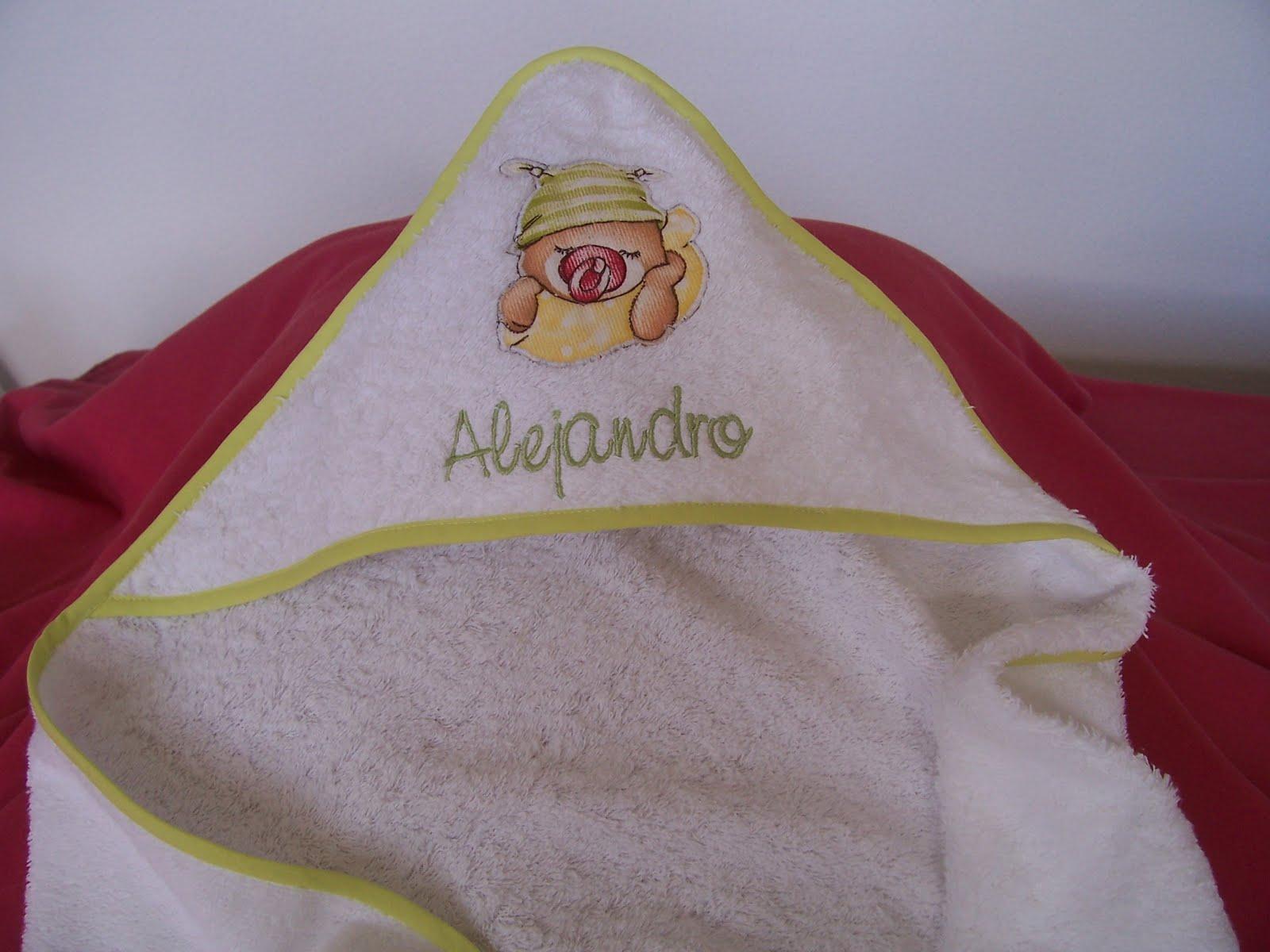 Medidas Toalla Baño Bebe:Toalla capa aplicación osito para sacar a tu bebé del baño El bies