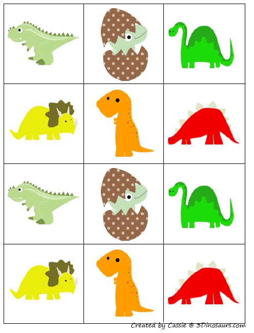 Part of the Dinosaur printables pack by 3 Dinosaurs, this is page 17 ...