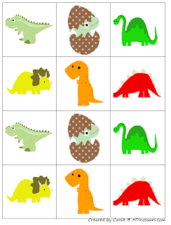 part of the dinosaur printables pack by 3 dinosaurs this is page 17