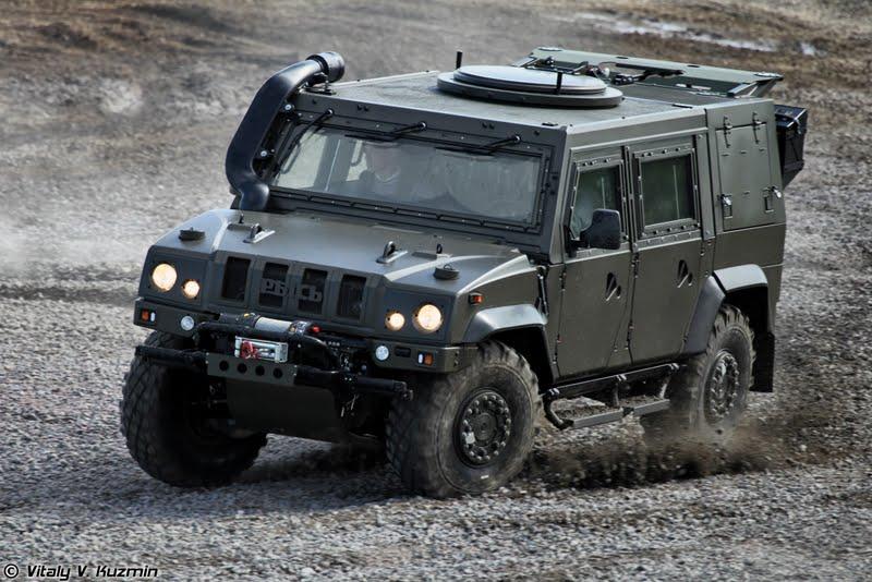Blindado multiuso Iveco LMV não sera mais fabricado na Rússia