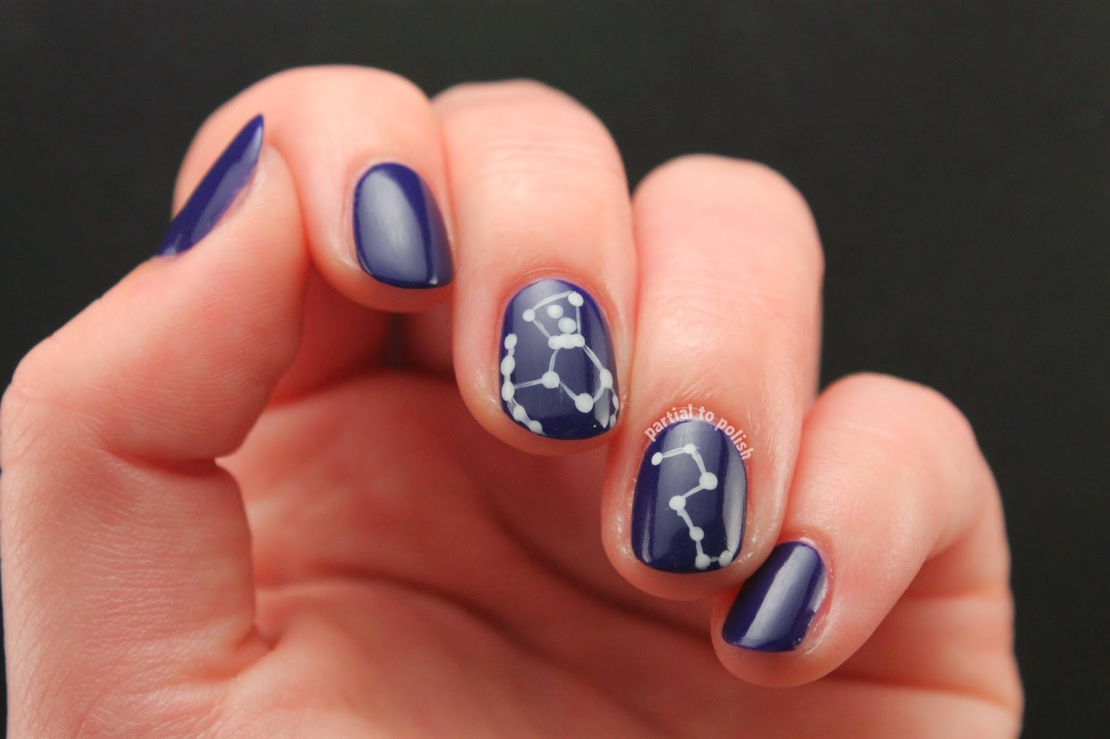 OPI Constellation Nail Art