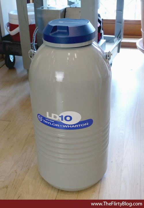 Liquid Nitrogen Ice Cream Machine