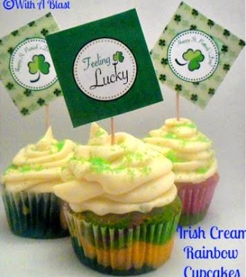 http://www.withablast.net/2013/02/irish-cream-rainbow-cupcakes.html