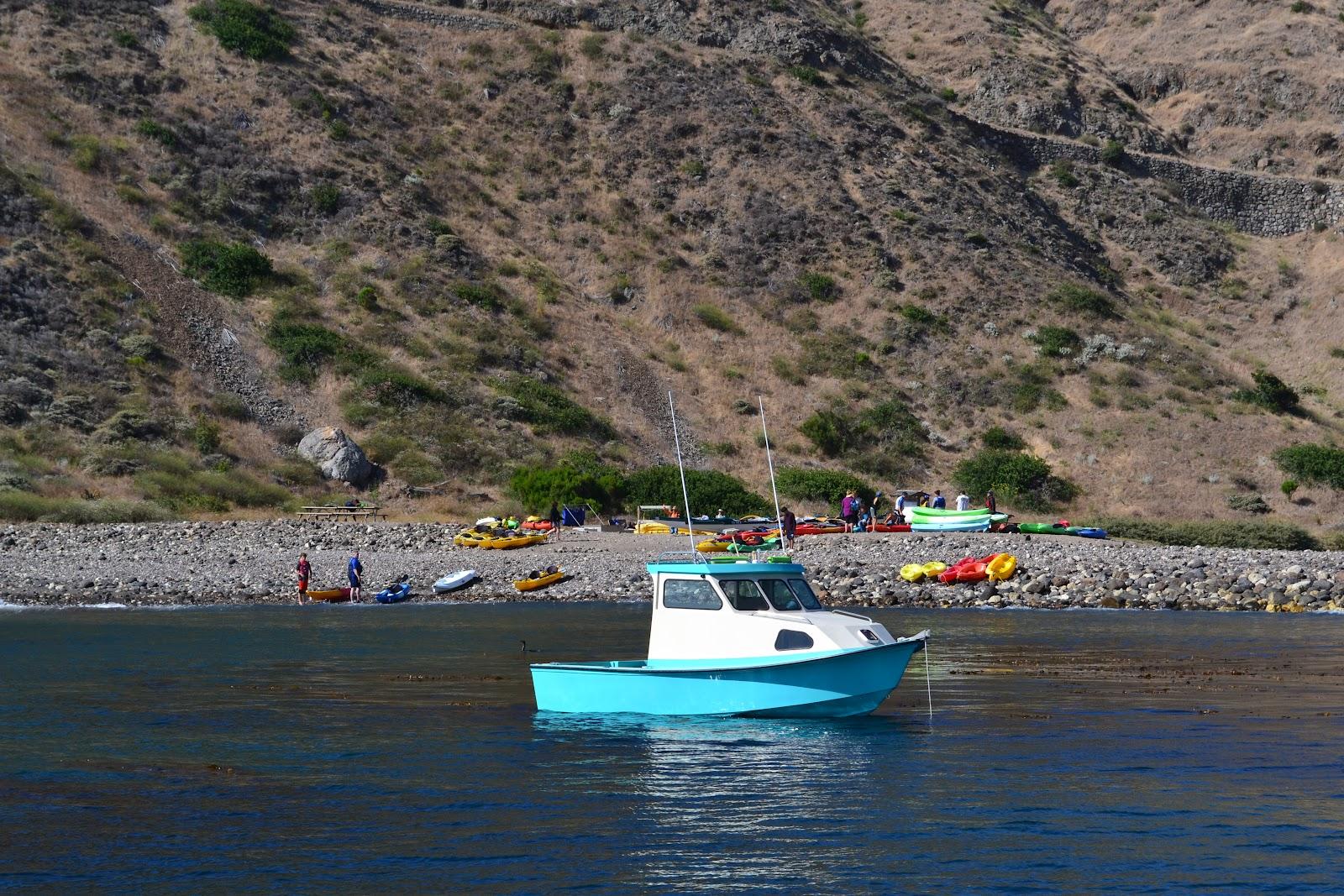 Nanda nathan the travellers santa cruz island ca for Santa cruz fishing