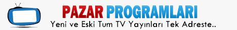 Pazar TV Programları, Televizyon izle