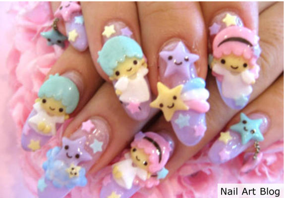The bloomin couch japanese nail art but when it comes to weird and wacky fashion and beauty it usually comes from japan so check out the newest trend japanese nail art prinsesfo Image collections