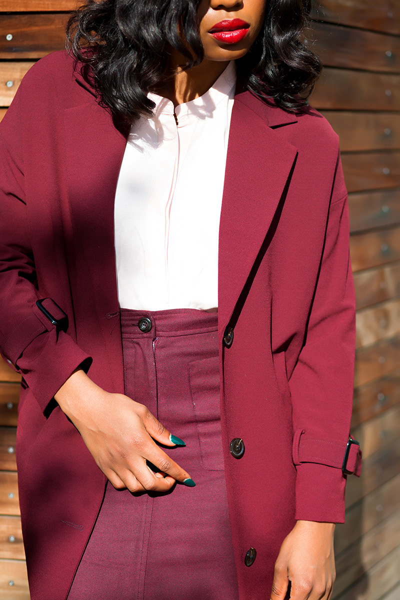 How to style fall burgundy color, www.jadore-fashion.com