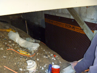 Toronto wet basement waterproofing foundation