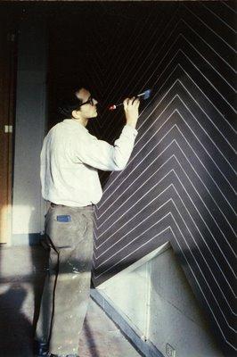 Artistes designers frank stella for Frank stella peinture