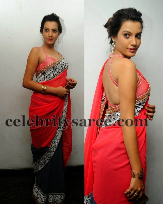 Diksha Panth Backless Blouse