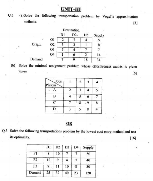 optimization exam paper Optimization problems  we have over 160 college courses that prepare you to earn credit by exam that is accepted by over 1,500 colleges and universities  optimization problems in calculus .