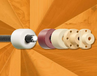 Igus Introduces Lead Screw Nuts in Five Different High-Performance Plastics Available from Stock