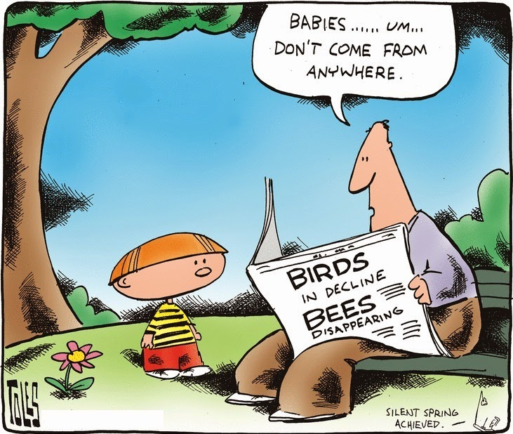 Tom Toles: The birds & the bees.