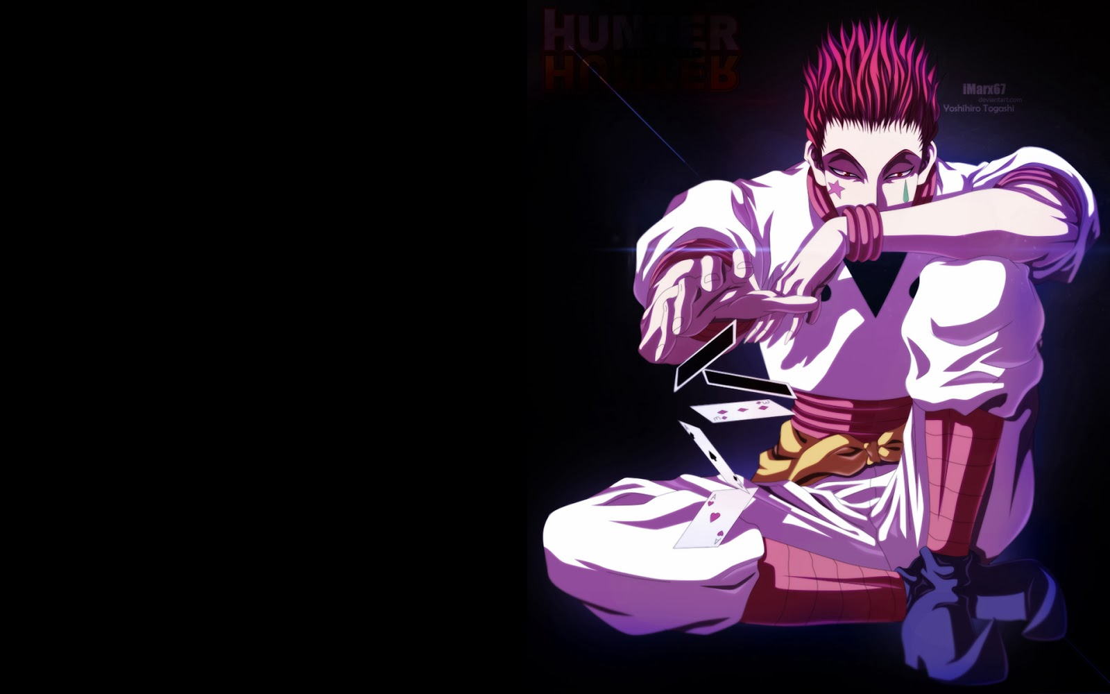 Hisoka Cards Deviant Art Male Hunter X Hunter 2011 Anime HD Wallpaper    Hisoka Wallpaper 1920x1080