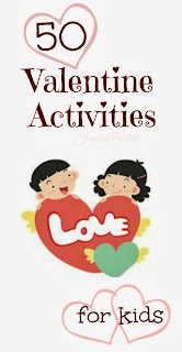 50+ Valentine's Day Activities for Kids including art activities, Science projects, crafts, sensory play, fun games, and MORE!