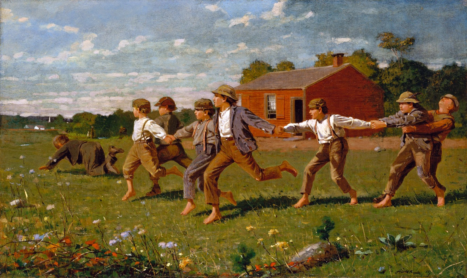 19th century american paintings winslow homer ctd
