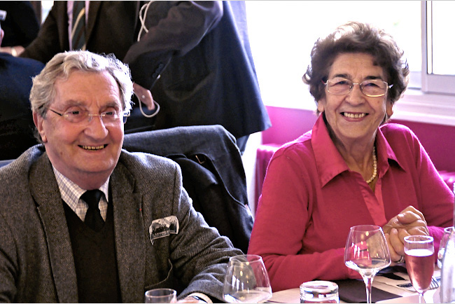 Gérard Fayolle et Paulette Labatut