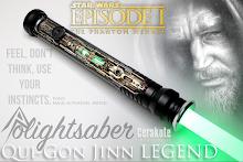 Qui-Gon Jinn TPM Legend Lightsaber