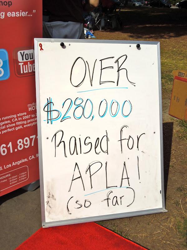 APLA fundraising